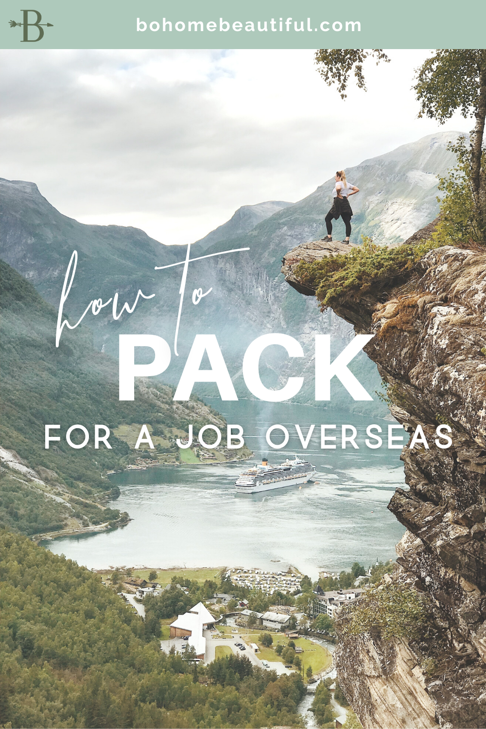 Pin - how to pack for a job overseas